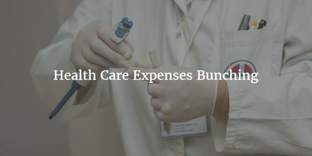 Health Care Expenses Bunching