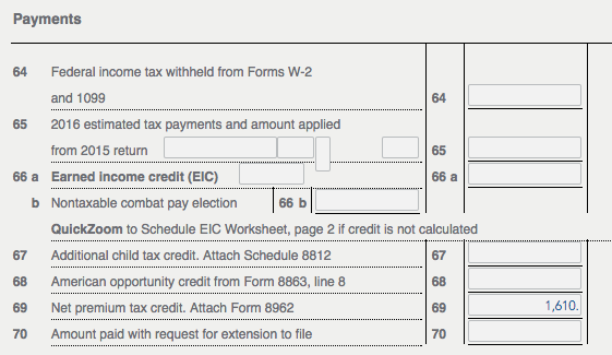 Tax Filing For Self Employed Health Insurance Through Aca