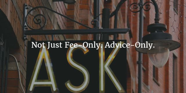 Advice-Only: The Best Model For Financial Advice People Need And Want