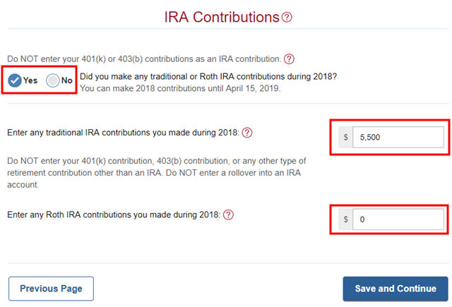 ftusa-21-ira-contribution Tax Form R Example on independent contractor, free printable copy, example filled out,