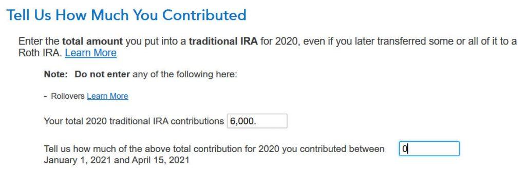 2020 25 tt contribution amount