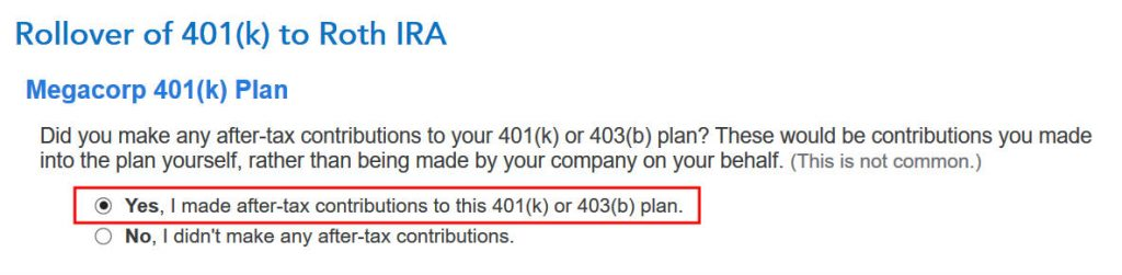 Como entrar no Mega Backdoor Roth no TurboTax: um passo a passo 19