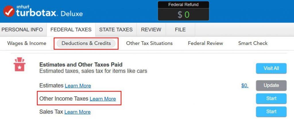 tt other taxes