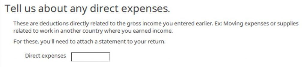 Crédito de imposto estrangeiro com formulário 1116 no software TurboTax e H&R Block 22
