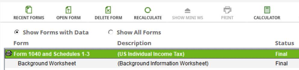 Crédito de imposto estrangeiro com formulário 1116 no software TurboTax e H&R Block 33