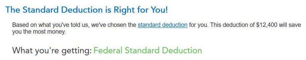 tt 05 standard deduction